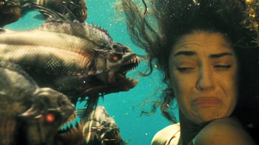 アレクサンドル・アジャ監督『ピラニア3D』:おっぱい3D