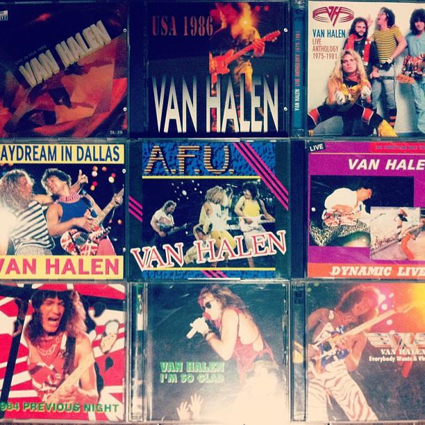 Van Halen海賊版CD自慢大会、会場はこちらでございます