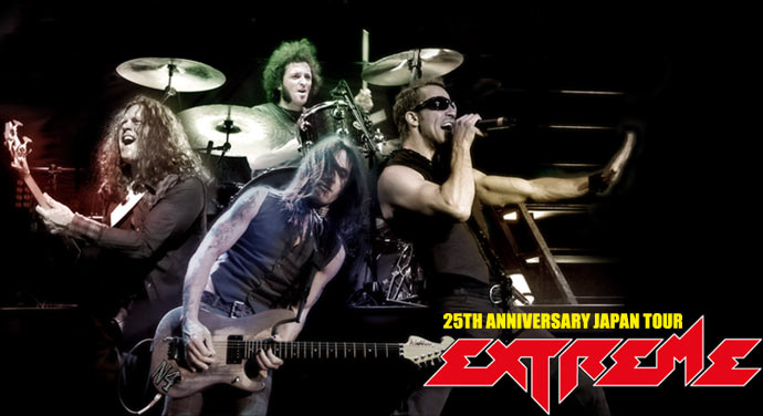 EXTREME 25th ANNIVERSARY JAPAN TOURに行ってきました