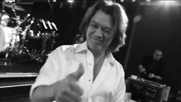 Van Halen ジャパンツアーに向けてのSay Hi!