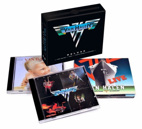 Van Halen Tokyo Dome Live In Concert VH.box set.contents.03-15