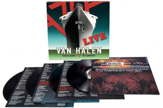 Van Halen Tokyo Dome Live In Concert VH LP box set.contents.03-15