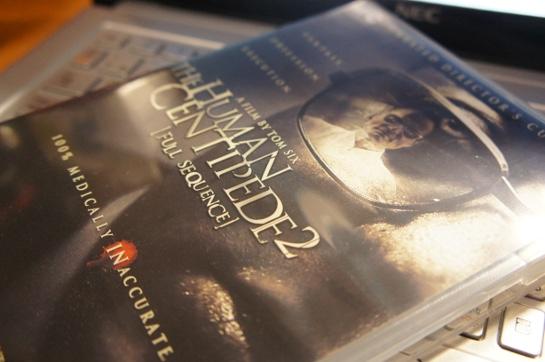 『ムカデ人間2』とリージョンコード