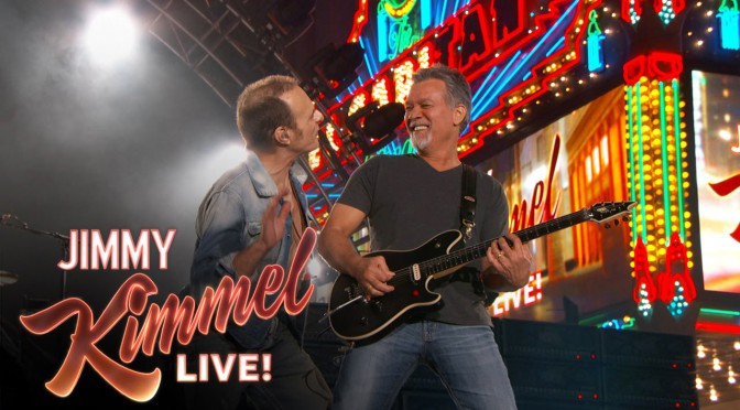 Van Halen on Jimmy Kimmel Live 2015 3 30