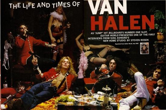 Van Halen 日本公演延期の日程